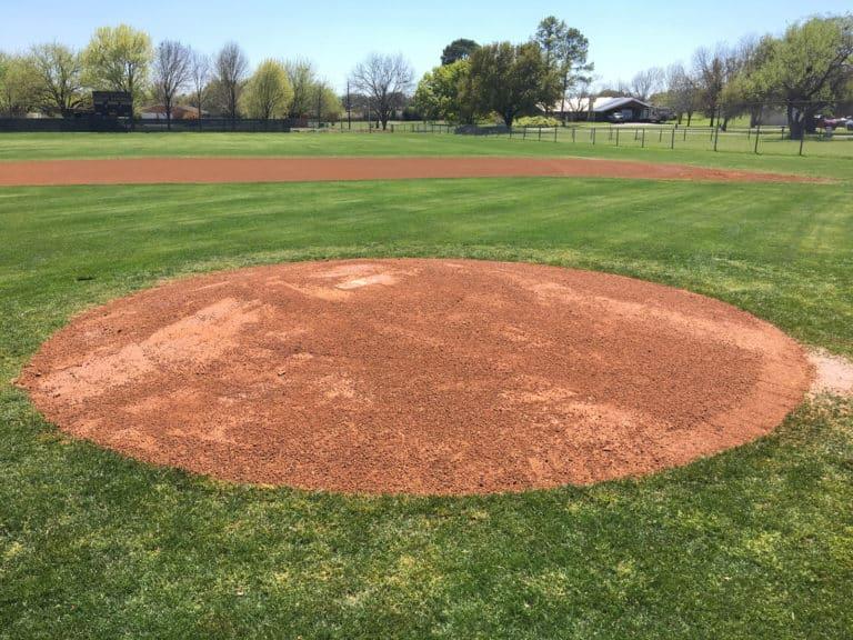 Pitching Mound After 1 Nat. Turf