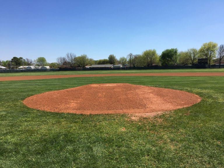 Pitching Mound After 2 Nat Turf